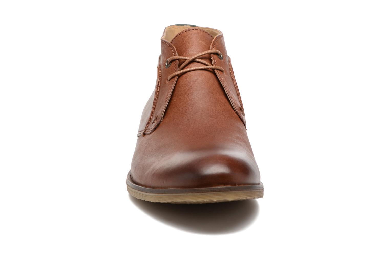 Chaussures à lacets Kickers Flaval Marron vue portées chaussures