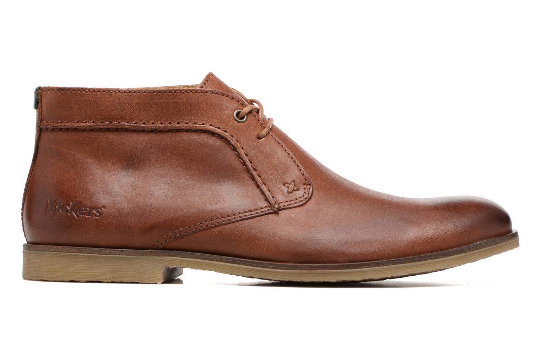 Chaussures à lacets Kickers Flaval Marron vue derrière