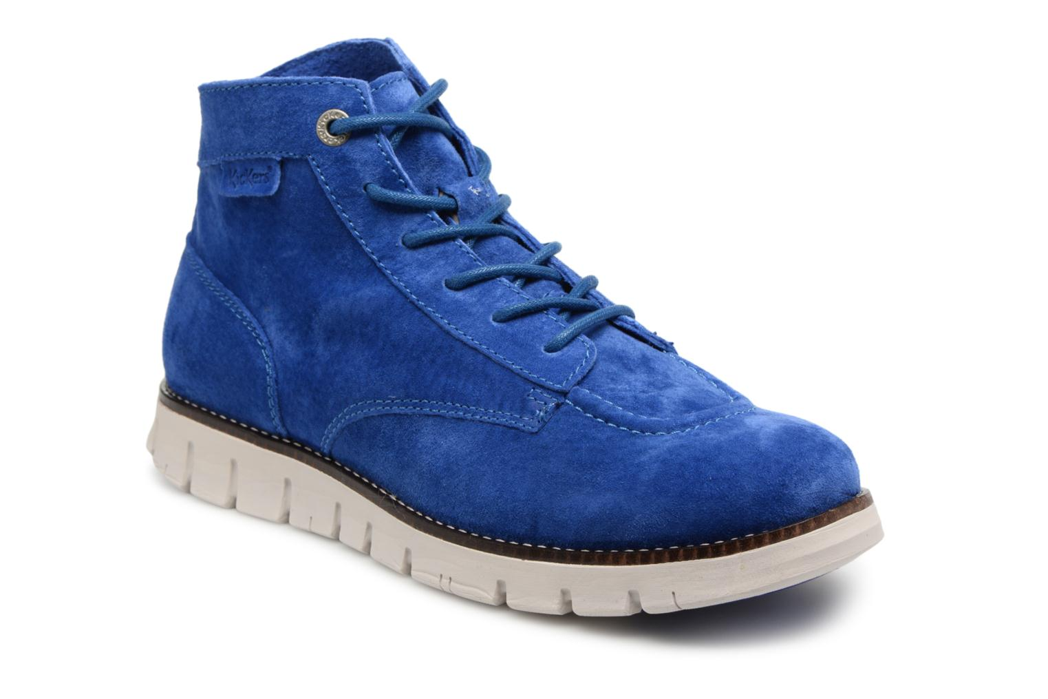 Kickers Kicklegendsport (Bleu) - Bottines et boots chez Sarenza (328171)