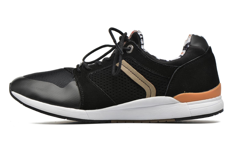Sneaker Kickers Lightrfinn schwarz ansicht von vorne
