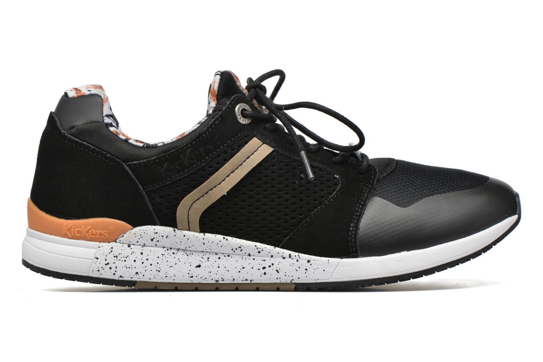 Sneakers Kickers Lightrfinn Sort se bagfra