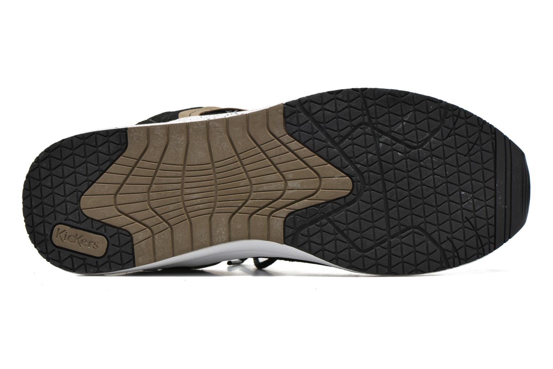 Sneaker Kickers Lightrfinn schwarz ansicht von oben