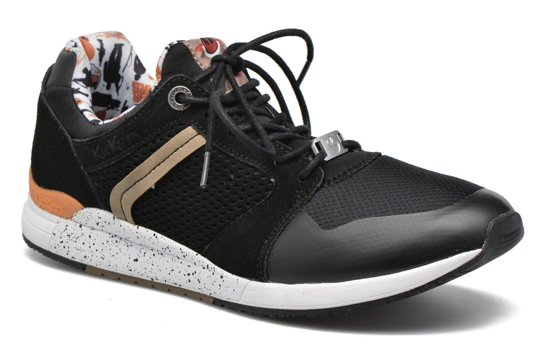 Sneakers Kickers Lightrfinn Sort detaljeret billede af skoene