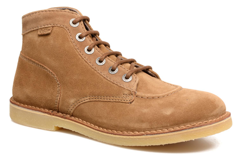 Ankelstøvler Kickers Orilegend Brun detaljeret billede af skoene