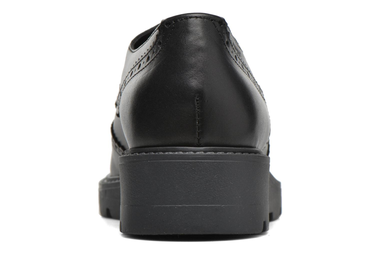 Lace-up shoes Esprit Josette Lace Up Black view from the right
