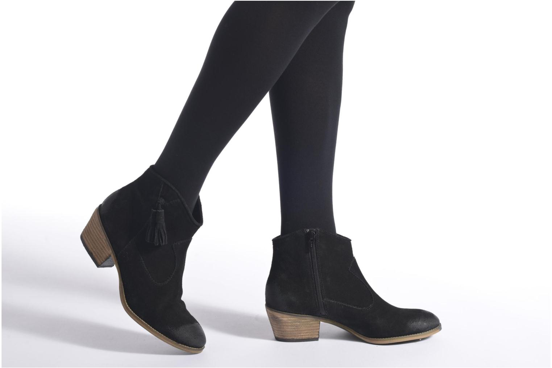 Bottines et boots Esprit Bake Tossel Marron vue bas / vue portée sac
