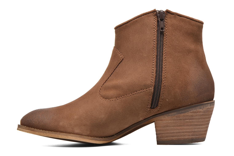 Bottines et boots Esprit Bake Tossel Marron vue face