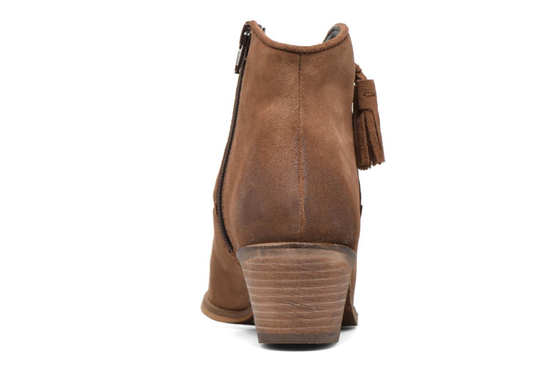 Bottines et boots Esprit Bake Tossel Marron vue droite