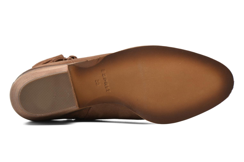 Bottines et boots Esprit Bake Tossel Marron vue haut