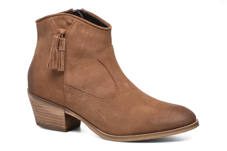Bottines et boots Esprit Bake Tossel Marron vue détail/paire