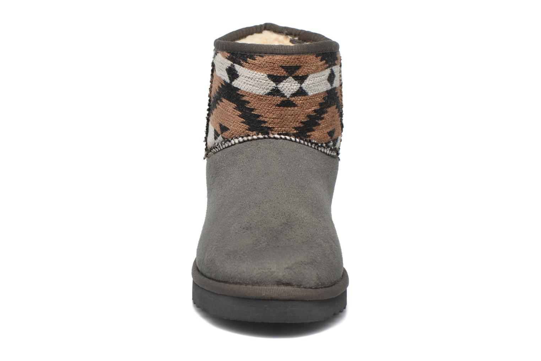 Ankle boots Esprit Uma Ethno Grey model view