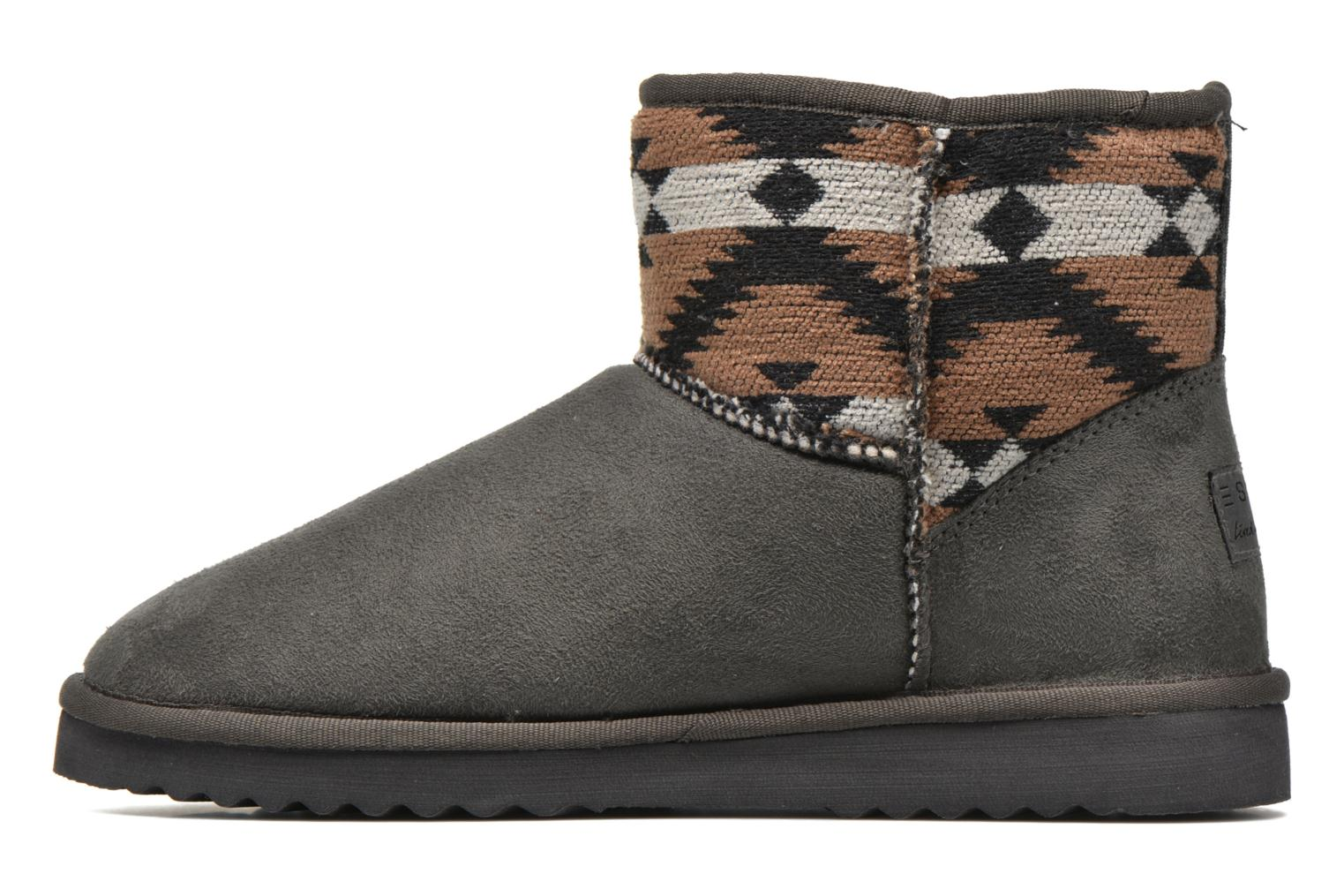Ankle boots Esprit Uma Ethno Grey front view