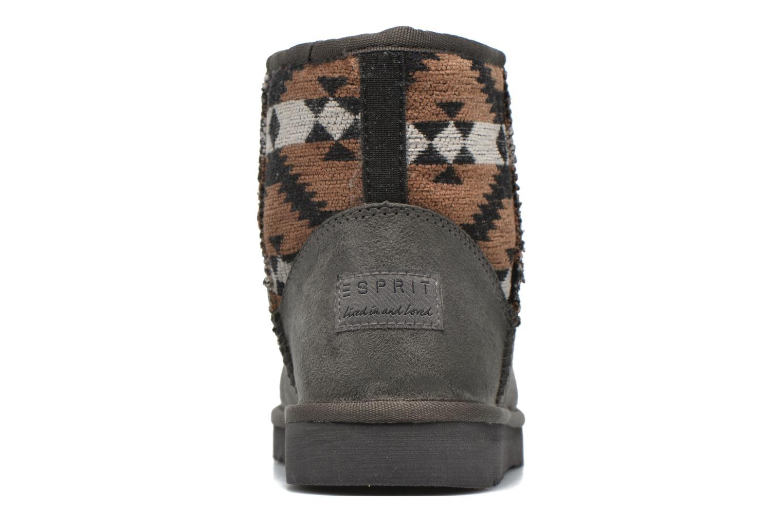 Boots en enkellaarsjes Esprit Uma Ethno Grijs rechts