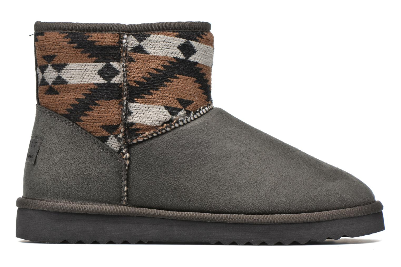 Ankle boots Esprit Uma Ethno Grey back view