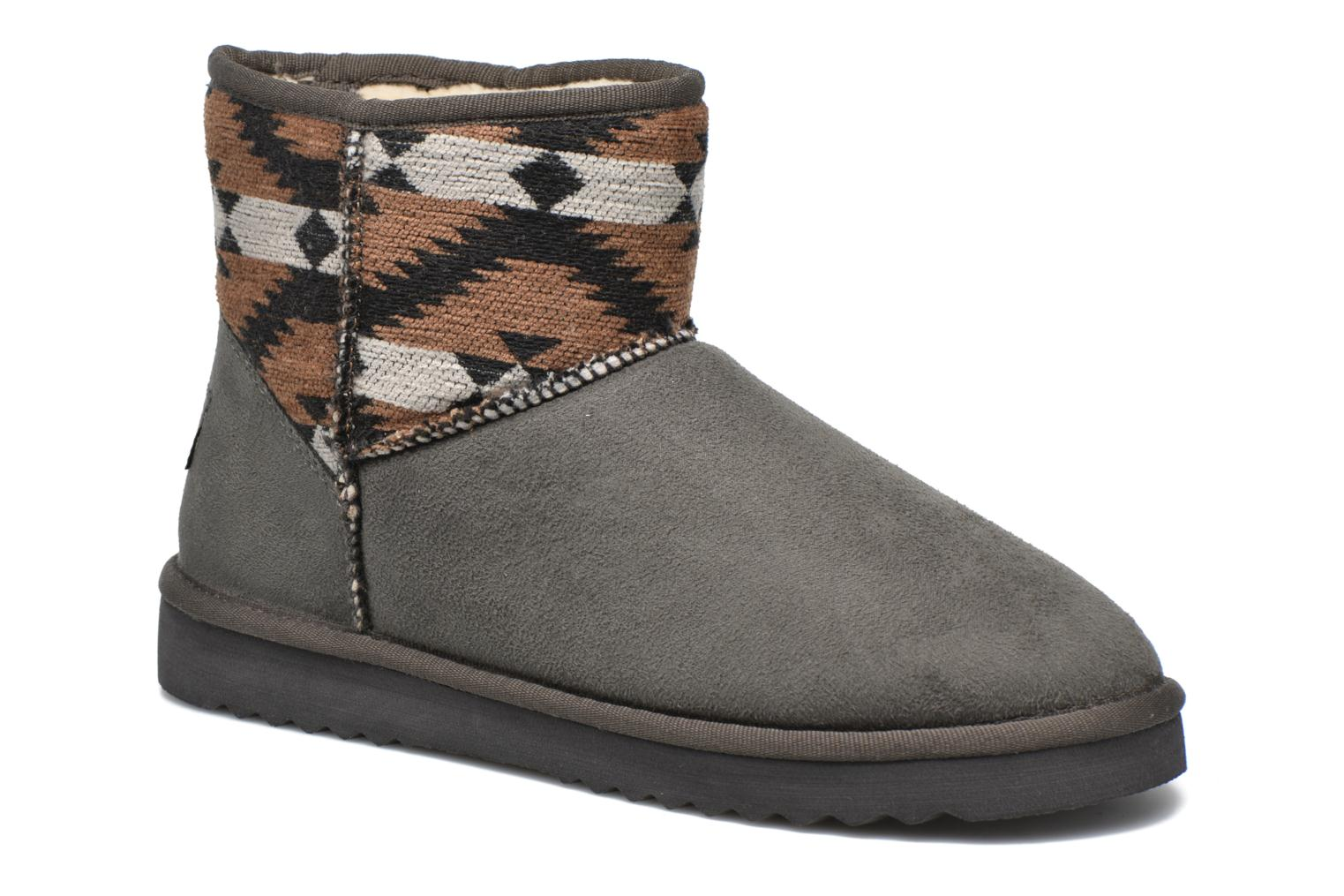 Ankle boots Esprit Uma Ethno Grey detailed view/ Pair view