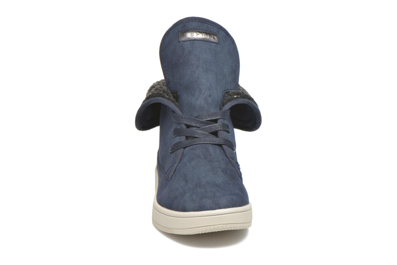 Sneakers Esprit Desire Bootie Azzurro modello indossato