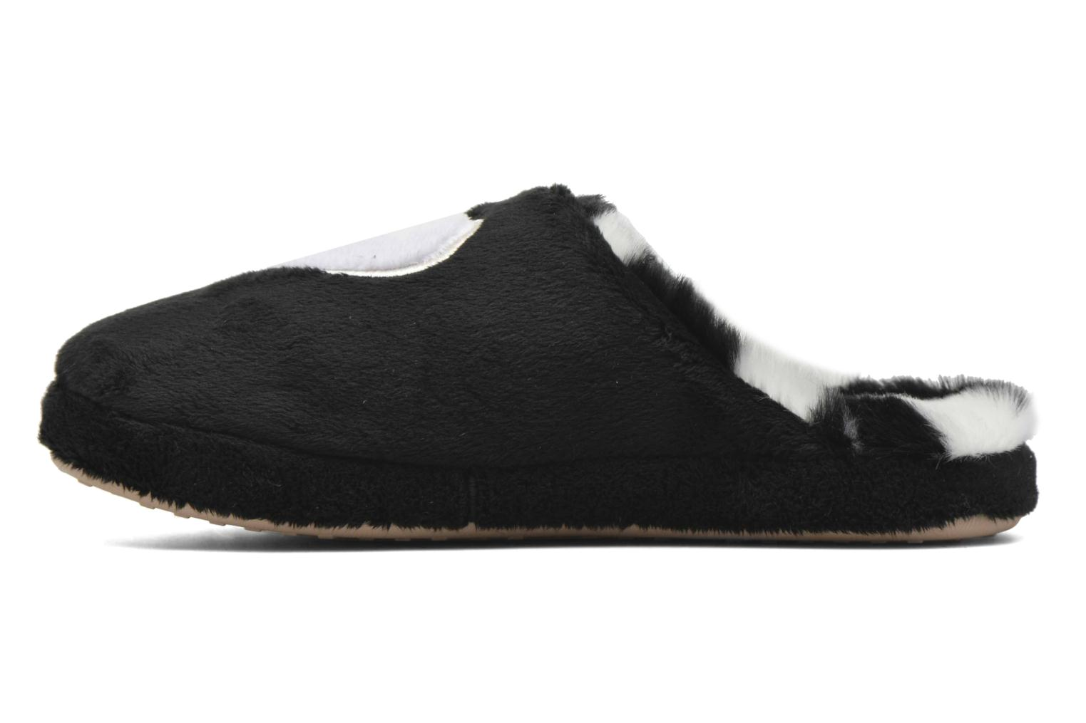 Slippers Esprit Doni Big Heart Black front view