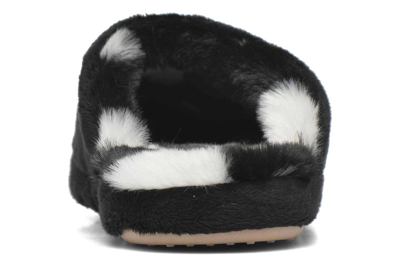 Slippers Esprit Doni Big Heart Black view from the right