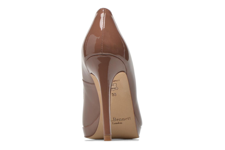 Zapatos de tacón L.K. Bennett Slegde Marrón vista lateral derecha