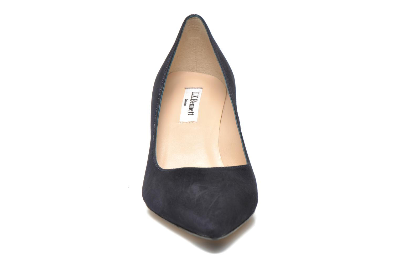 Escarpins L.K. Bennett Florida Bleu vue portées chaussures