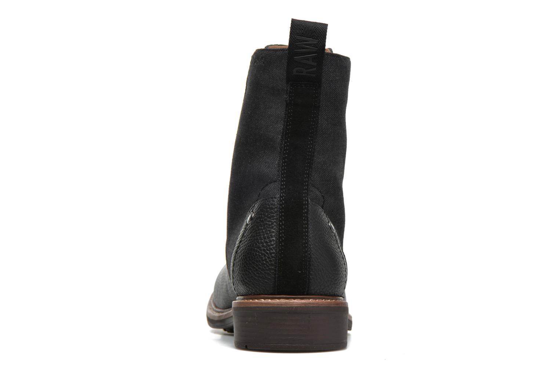 Bottines et boots G-Star Labour Noir vue droite