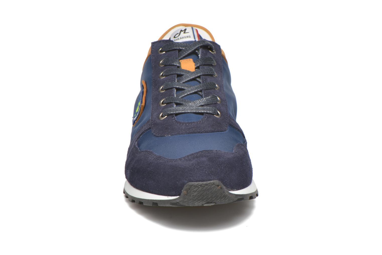Baskets Mascaret Wolf denier Bleu vue portées chaussures