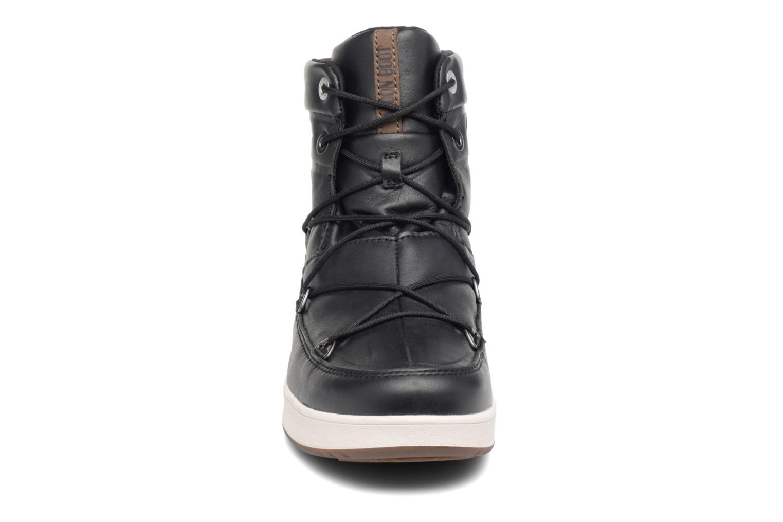 Sportschuhe Moon Boot Neil Lux schwarz schuhe getragen