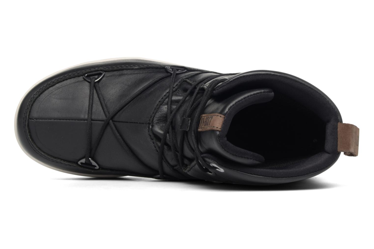 Sport shoes Moon Boot Neil Lux Black view from the left