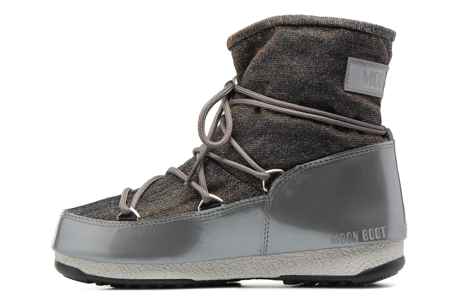 Chaussures de sport Moon Boot We Low Lurex Gris vue face