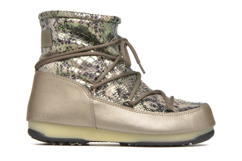 Chaussures de sport Moon Boot Low Snake Vert vue derrière