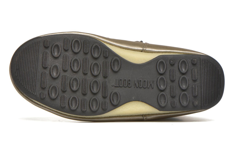 Chaussures de sport Moon Boot Low Snake Vert vue haut