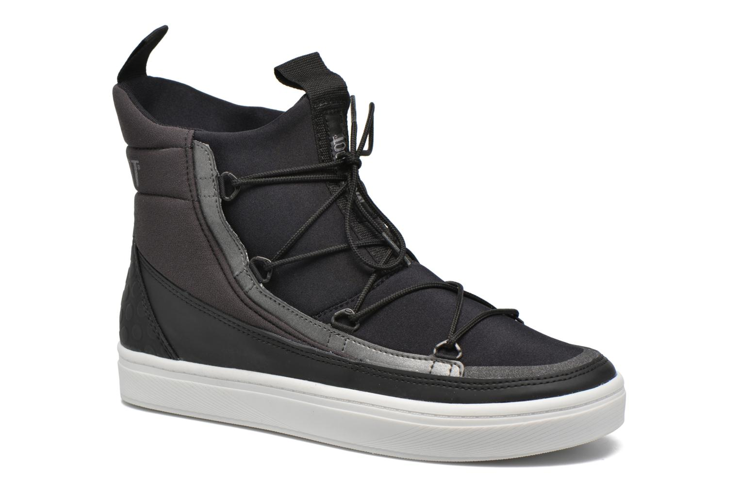 Marques Chaussure femme Moon Boot femme Vega Hi TF Black-Anthracite