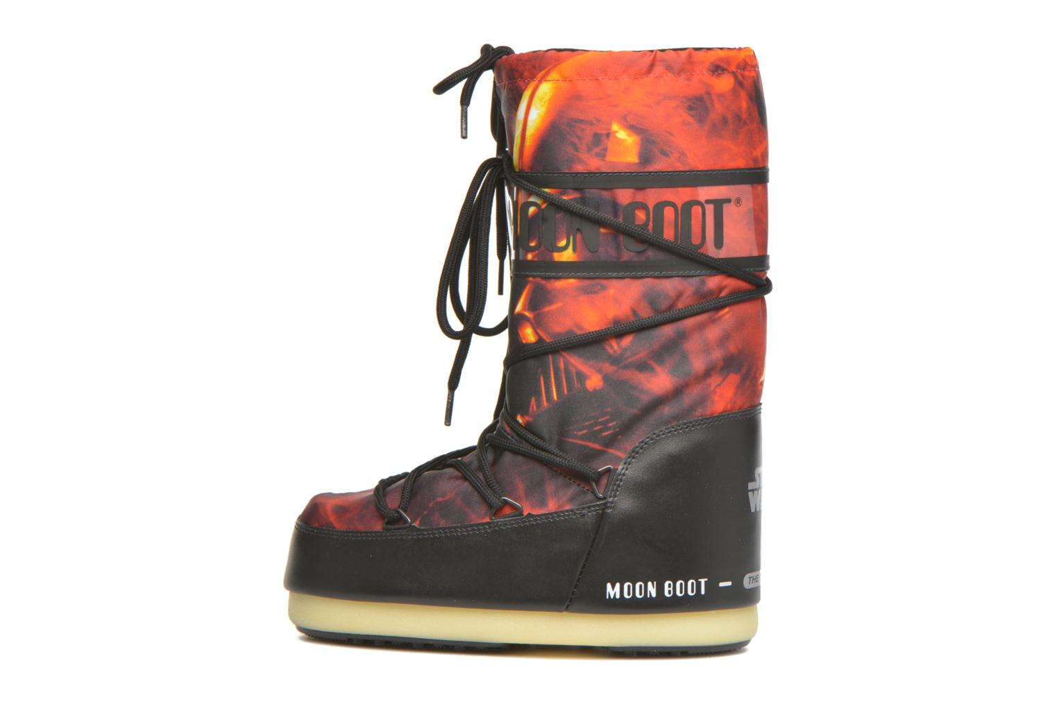 Bottes Moon Boot Moon Boot Star wars Jr Fire Rouge vue face
