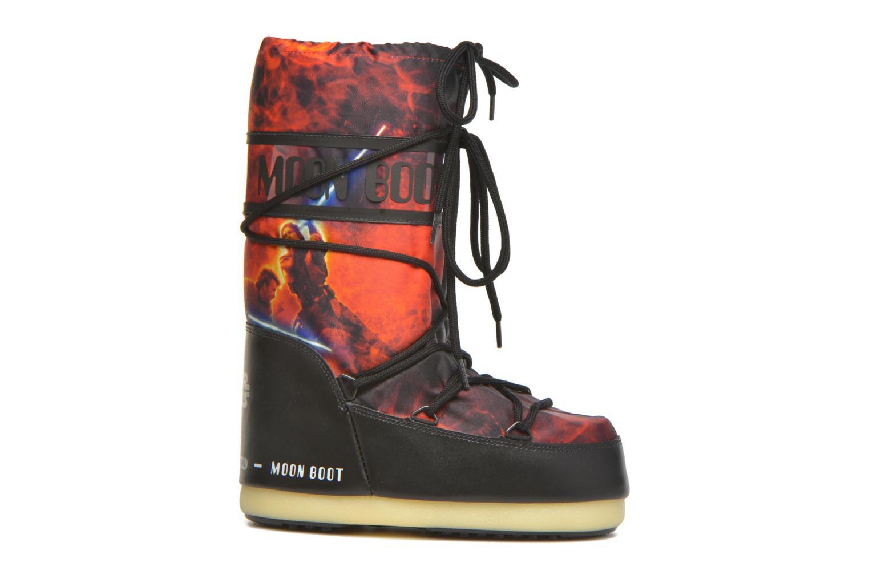 Støvler & gummistøvler Moon Boot Moon Boot Star wars Jr Fire Rød se bagfra