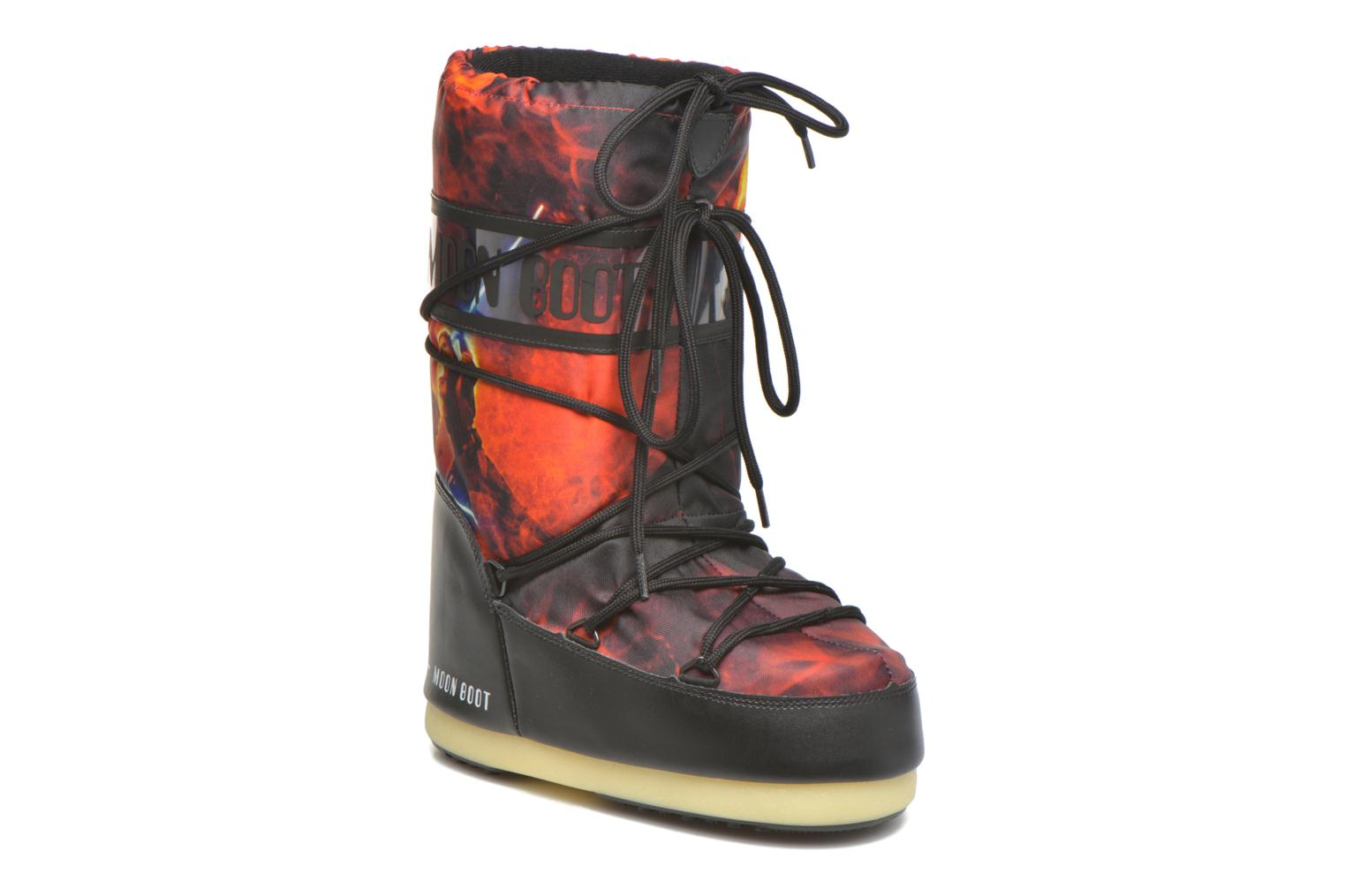 Bottes Moon Boot Moon Boot Star wars Jr Fire Rouge vue détail/paire