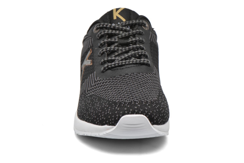 Baskets Kickers Knitwear F Noir vue portées chaussures