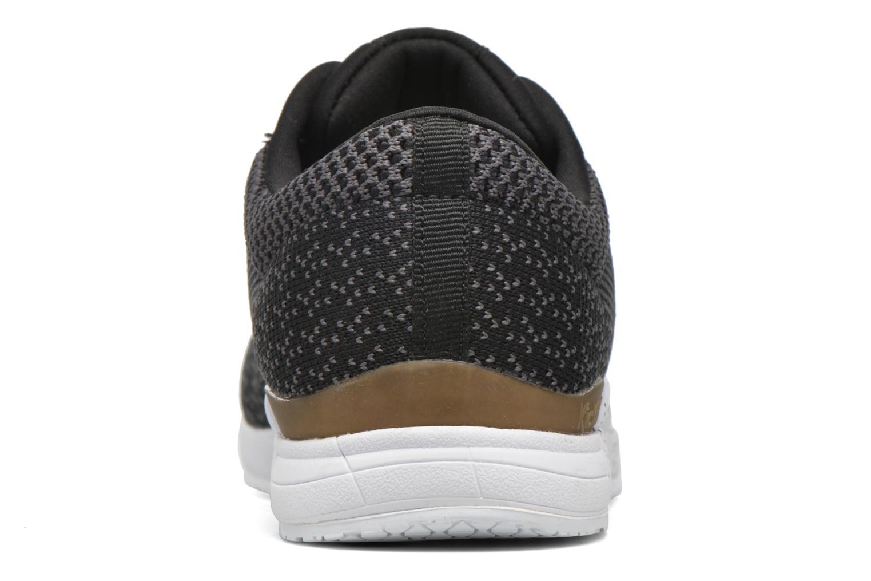 Baskets Kickers Knitwear F Noir vue droite
