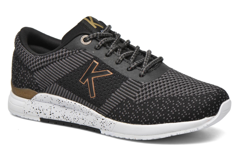 Baskets Kickers Knitwear F Noir vue détail/paire