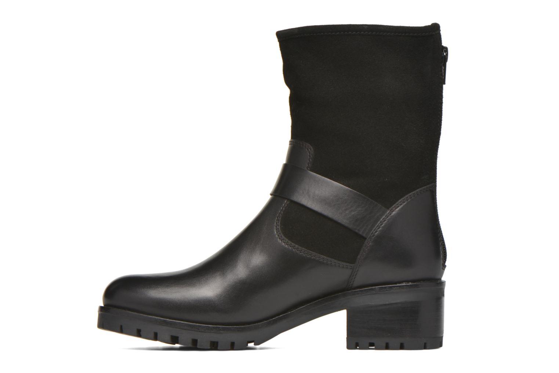 Bottines et boots Kickers Kikoo Noir vue face