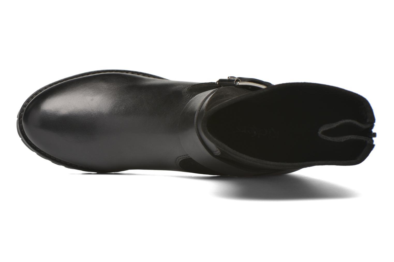 Bottines et boots Kickers Kikoo Noir vue gauche