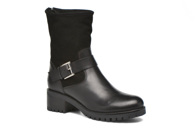 Bottines et boots Kickers Kikoo Noir vue détail/paire