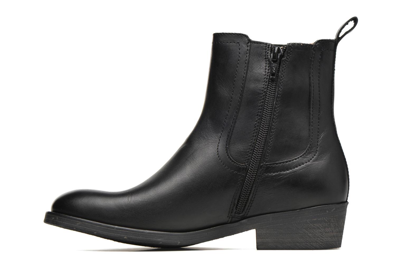 Bottines et boots Kickers Amerstick Noir vue face