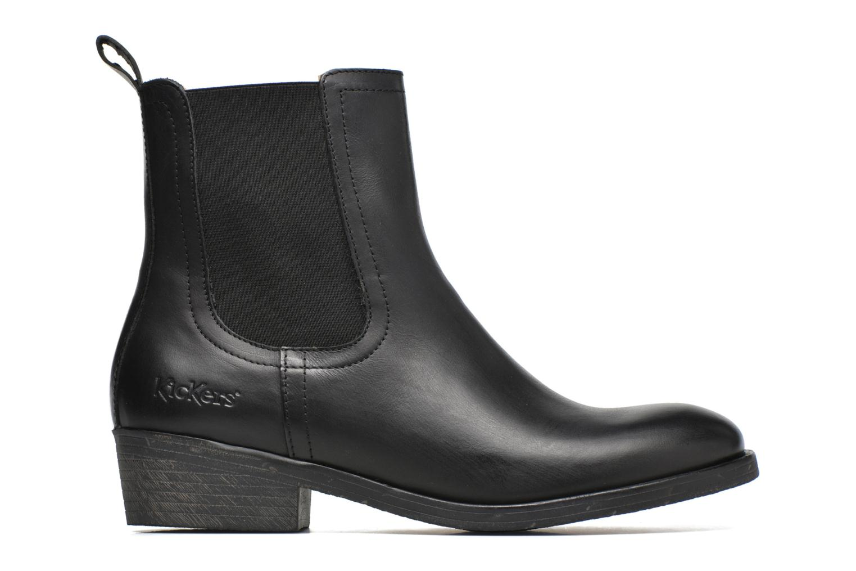 Bottines et boots Kickers Amerstick Noir vue derrière