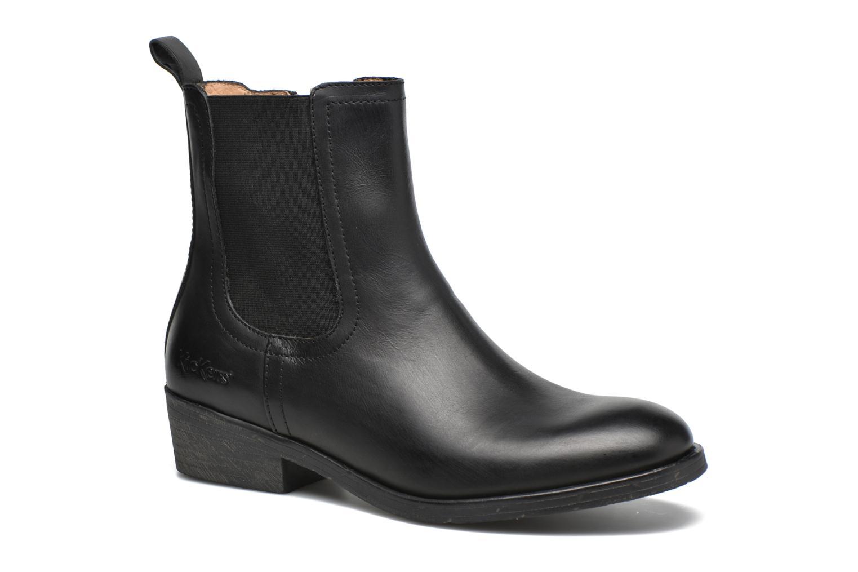 Bottines et boots Kickers Amerstick Noir vue détail/paire