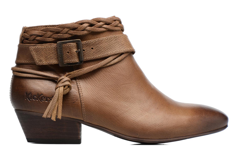 Bottines et boots Kickers Westboots Marron vue derrière