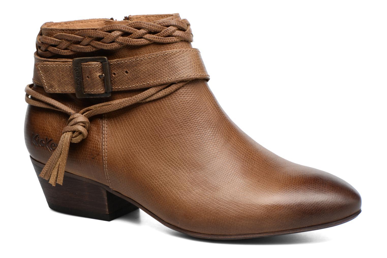 Bottines et boots Kickers Westboots Marron vue détail/paire