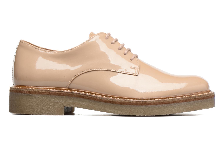 Chaussures à lacets Kickers Oxfork Beige vue derrière