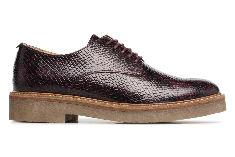 Chaussures à lacets Kickers Oxfork Violet vue derrière