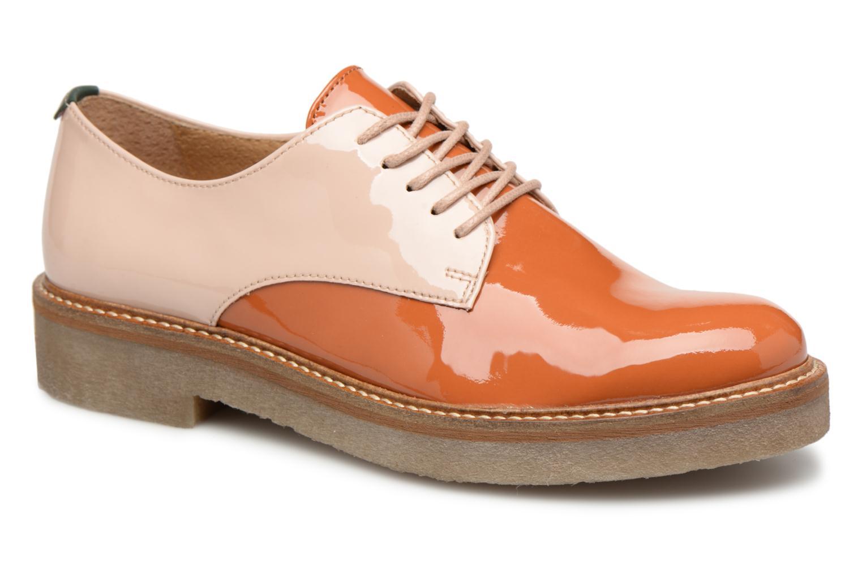 Casual salvaje Kickers Oxfork (Naranja) - Zapatos con cordones en Más cómodo