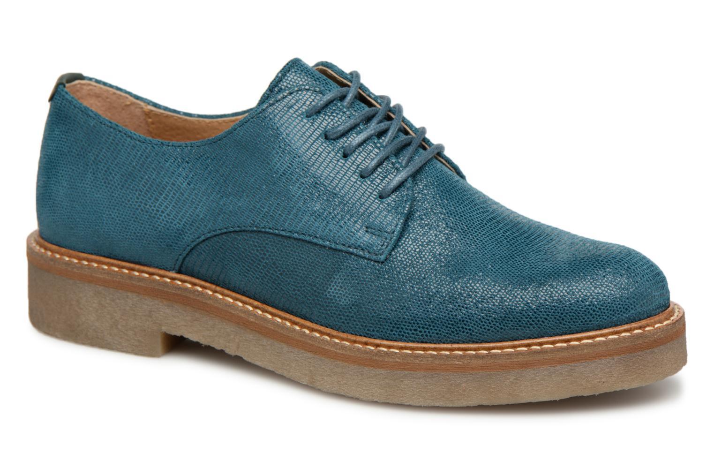 modelo más vendido de la marcaKickers Oxfork (Azul) - Zapatos con cordones en Más cómodo